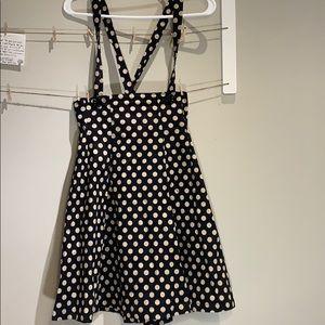 Polka dot Skirt with straps
